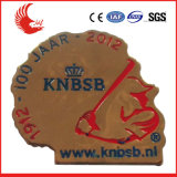 Promotion High Grade Custom Metal Gold Plating Badge