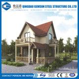소형 살아있는 Prefabricated 가벼운 강철 별장