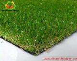 Uso interno e ao ar livre da grama artificial para o jardim e ajardinar