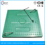 Pt124 B125 Square 500x500mm SMC Tampa de Inspeção de fibra de vidro