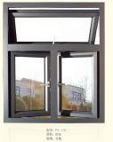 Insonorisées Fenêtre à battant de la conception en aluminium
