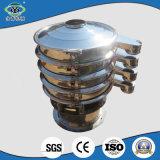 600 mm de diámetro 3 capas de tamaño de grano de café de máquina de la pantalla de la vibración de clasificación
