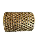 Placa de bronce esférica de la brida de cojinete de deslizamiento para motocicleta amortiguador