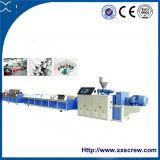 Cambio de color de la máquina extrusora de plástico de perfil de PVC para personalizar la