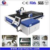 Kohlenstoffstahl-Ausschnitt-Qualitätsfaser-Laser-Ausschnitt-Maschine mit Ipg Raycus Laser 500W-3000W