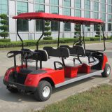 Ce aprovou 6 carrinho de golfe para passageiros Dg-C6 com serviço de OEM