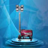 Generador de energía móvil de emergencia exterior de la Torre de Luz