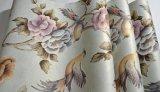 3D PVC装飾的な花および鳥の壁のカバーか壁紙