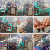 Farina del mais che fa macchina per Ugali, Fufu in Africa