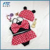 Costume da bagno del bikini di Mickey Mouse di alta qualità delle ragazze di modo