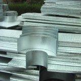 Composé de caillebotis en acier galvanisé-de-chaussée