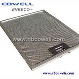 Pantalla de filtro envuelta inoxidable del alambre de acero