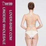 Formeinteiliger Swim-Abnutzungs-Handhäkelarbeit-Bikini (L32574-1)