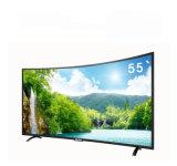 2018 nouveaux téléviseurs LED incurvée de la TV avec UHD panneau 4K en option