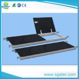 Verwendetes bewegliches Aluminiumgestell-Aluminiumtreppen-Baugerüst