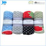 Оптовое напечатанное 100%Polyester приполюсное одеяло ватки, Coral одеяло ватки