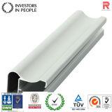 Profil en aluminium/en aluminium d'extrusion pour les rideaux (RAL-155)