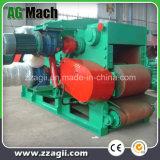 8-12 toneladas de automatización de motor diésel de alto tambor Wood Chipper