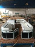 5m DIY Jet eléctrico de agua salada Cruceros Pontoon Boat