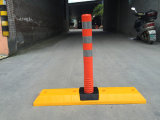Flexible para delineación de la base del separador de carril Post