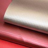 Cuoio artificiale dell'unità di elaborazione del raso della piccola grata per la decorazione del pattino del sacchetto