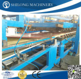 セリウムApproved EPSおよびRock Wool Sandwich Wall Panel Board Cold Roll Forming Machine Production Line