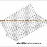Doble - acoplamiento hexagonal Twisted de la pared de Gabion