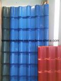Toit vitré à deux couches de PVC Ligne de feuille