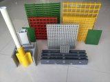 Quadratische geformte Vergitterung des Ineinander greifen-60X38X38 Fiberglass/FRP mit hochfestem korrosionsbeständigem