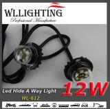 6PCS 1W Adler-Licht der Fahrzeug-Gefahr-LED