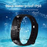 Waterdichte Slimme Armband met Armband Multifuction met de Monitor van het Tarief van het Hart V66