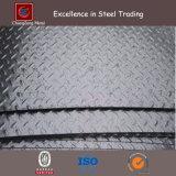 Placa Checkered de aço macio laminado a quente (CZ-S65)