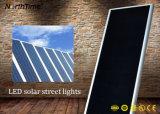 100W 태양 자동 느끼는 운동 측정기 지능적인 시스템 LED 가로등