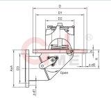 Válvula de corte de emergência em aço inoxidável