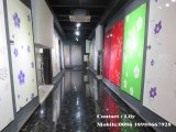 Porta lustrosa elevada do MDF do acrílico para o gabinete de cozinha (DM9656)