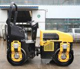 Diesel van Perkins Hydraulische Aandrijving Rol van het Wiel van het Staal van 3 Ton de Mini Trillings (fyl-1200)