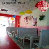 3D de PVC decorativas Autoadhesivas acústica mosaico para jardín de infantes