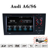 "7""Carplay Lecteurs de DVD de voiture Audi A6/S6 (facultatif) antireflet Android 7.1 Flash : 1+16g ou 2+16g ou 2+32g"