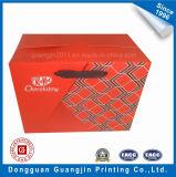 Forma personalizada Nuevo diseño de la caja de papel plegable cesta de la compra