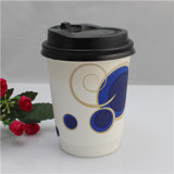 Gedrucktes Coffee Paper Cup mit Lid/Cover