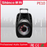 10 дюймов Shinco Wireless Bluetooth караоке тележка АС с светодиодный индикатор