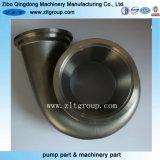 砂型で作るステンレス鋼または合金鋼鉄ポンプ部品
