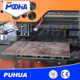 Máquina de perfuração do CNC para o furo de néon da tela da caixa leve
