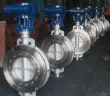 """Engranaje helicoidal de acero inoxidable Buuterfly válvula D371f-16 304 (11/2""""-12"""")."""