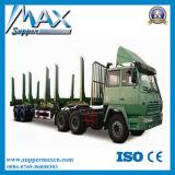 반 3개의 차축 45tons를 가진 목제 수송 트럭 트레일러
