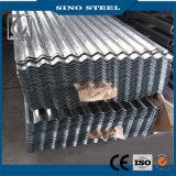 Jisg3302 Z100 heißes BAD galvanisiertes gewölbtes Dach-Stahlblech