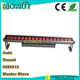 Piscina 18 uds. de 10W RGBW 4en1 de pared LED de luz lineal