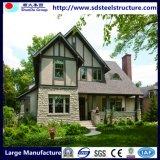 Structure économique et de la lumière de l'acier préfabriqué Villa Maison de fleurs