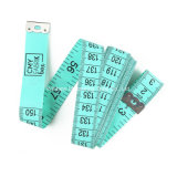 녹색 선전용 선물 섬유유리 PVC 재단사 측정 테이프 (FT-068)