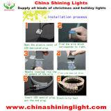 세륨 UL SAA 표준 방수 옥외 사용 LED 장식적인 빛